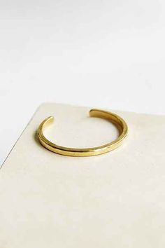 Studebaker Metals Hand-Forged Brass Cuff Bracelet - Urban Outfitters