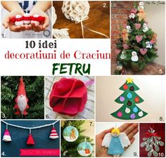 decoratiuni de craciun din fetru Christmas Ornaments, Holiday Decor, Home Decor, Decoration Home, Room Decor, Christmas Jewelry, Christmas Decorations, Home Interior Design, Christmas Decor
