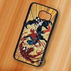 Spiderman Venom Marvel - Samsung Galaxy S7 S6 S5 Note 7 Cases & Covers