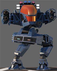 Tac X1 Alpha - Futurecop video game - Urban assault vehicle