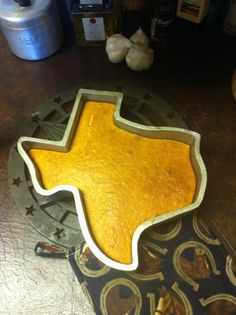 would love this texas shaped cake pan #texas