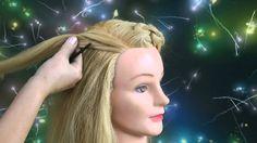 Прически с плетением волос от Ольги Харитоновой.