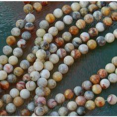 Crazy lace agate Perlen, Achatperlen