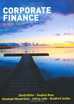 http://financepins.com/corporate-finance-3/ Corporate Finance, by Ross, Westerfield, Jaffe and Jordan was written to convey the most important corporate finance concepts and applications as a level that is approachable to the widest possible audience. The concise format, managerial context and design, and student-friendly writing style are key attributes in this text. We took the best from RWJ Fundamentals and RWJ Corporate to create a book that ...