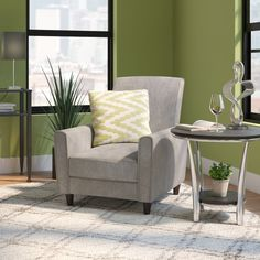 accent chair option (in ivory; out of stock until 10/8)
