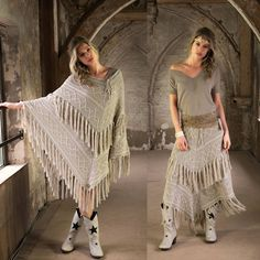 Multi poncho/Skirt torrent - sand - Ibizamode