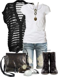 """Oversized Cardigan"" by cynthia335 on Polyvore"