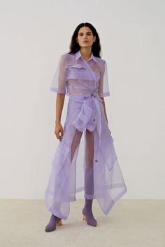 Nanushka Fall 2019 Ready-to-Wear Fashion Show - Vogue Fashion Week, New York Fashion, Runway Fashion, Spring Fashion, Fashion Show, Autumn Fashion, Fashion Outfits, Fashion Design, Vogue Fashion