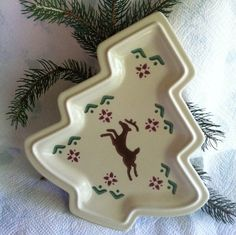 Hey, I found this really awesome Etsy listing at https://www.etsy.com/listing/462434043/christmas-tree-plate-pfaltzgraff-nordic