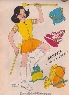 Nanette PD, Children's Playmate 1950