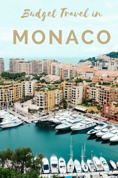 It's absolutely possible to visit Monte Carlo even during the most popular month of the year - and on a budget you can afford. via @mappingmegan