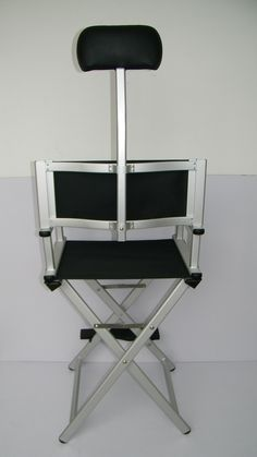 Professional Makeup Artist Chair Back View