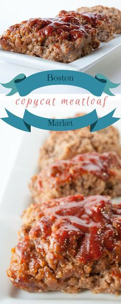 This Boston Market Meatloaf Copycat Recipe is extremely easy to make, and even more flavorful! Our family loves a meatloaf dinner from time to time, and this meatloaf offers a slightly sweet and tangy version of the classic favorite... DelectableCooking...   #bostonmarketmeatloafcopycat #copycatrecipe #meatloaf