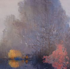 Randall David Tipton December Fog oil on canvas 24x24