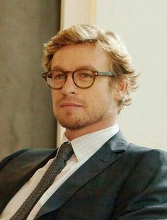 I swear Simon Baker with glasses is my weakness Patrick Jane, Simon Baker, Actrices Blondes, I Love Simon, Mejores Series Tv, Cuerpo Sexy, Kaiser, Portraits, Character