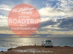 Ein Roadtrip durch Fuerteventura fühlt sich etwa so an: Riesige Vulkane, türkise Lagunen, haushohe Sanddünen, Ziegenherden und die Sonne, die das Wasser zum Glitzern bringt