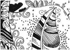 Le Creazioni di Kiara : crazy for DOODLING #14 ... FEATHERS ... piume piumette e piumaggi!