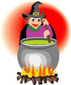 Witch Brewing Stew.