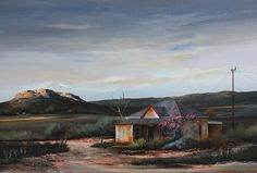 Rick Becker's paintings speak of how his soul resonates with the solitude and space of the Karoo. The ancient landscapes evoke nostalgic moods. Article by Art Times