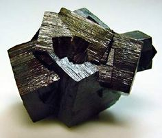 "Limonite after pyrite - Utah. 2"" x 1 1/2"". Classic psuedomorph.  Wright's Rock Shop North American Gallery / Mineral Friends <3"