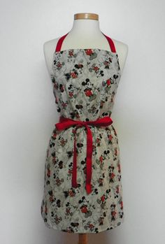 Mickey Mouse Apron. I think this could also be a cute dress. :)