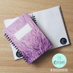Purple Fur notebook