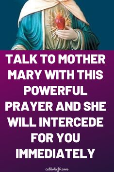 Talk to Mother Mary with this Powerful Prayer and She will Intercede for You Immediately – Daily Prayer Healing Prayer, Miracle Prayer, Prayers For Healing, Bible Prayers, Prayer For Prosperity, Catholic Prayer Book, Prayer For Mothers, Special Prayers, Memories Quotes