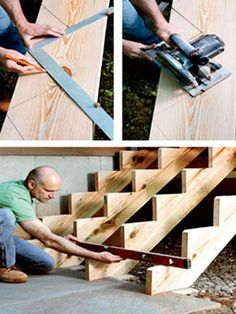 stair building step 2 - PopularMechanics.com