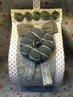 porta carta fiore