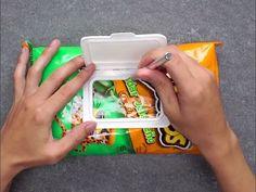 Op zoek na een handige manier om je chips te eten voor onderweg.  Je zult dit mooi vinden. Hoe maak je deze The Big Bag Hack  voor onder weg.