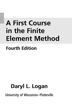 In search of best books on finite element analysis? You are at right place, here we have collected some of the best books from different sources. Before that, let me introduce you to the concept
