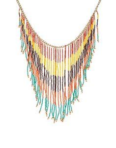 Enlarge ASOS Triangle Fringe Necklace