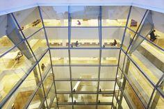 The new building of the Hertziana Library designed by Juan Navarro Baldeweg - Foto©: Andreas Muhs