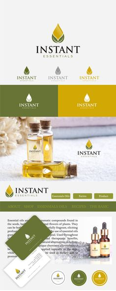 Create logo that promotes a sense of wellness and health using essential oils by Mumtaaz68