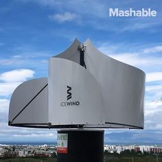 This reimagined wind turbine is much more efficient and eye-pleasing.