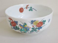 Vintage Porcelain Rice Bowl Chinoiserie by FreeLiving on Etsy, $16.00