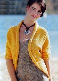 Вязание для женщин спицами. Жакет
