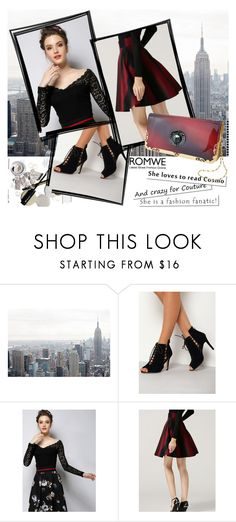 """ROMWE 4/8"" by melissa995 ❤ liked on Polyvore"