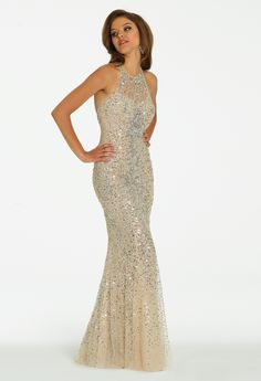 Jersey and Tulle Dress  Lace Prom dresses and Gowns
