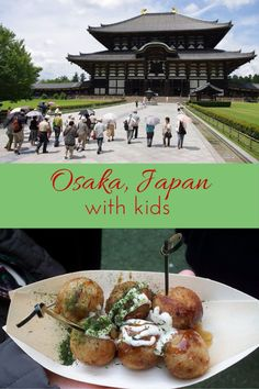 Five reasons why the Osaka region is the best family travel destination in Japan - a guest post by Caleb Parsons from Kids Travel Japan | Gone with the Family