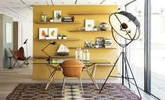 The top floor of the Conran Shop reveals a vision of how an idealised Conran apartment would look, and includes designs by Carlo Mollino, John Derian and Jean-Louis Domecq