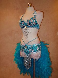Sale Authentic Custom RIO Carnival Samba Lasvegas Showgirl Halloween Costume SM | eBay