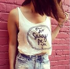 making this on my white top