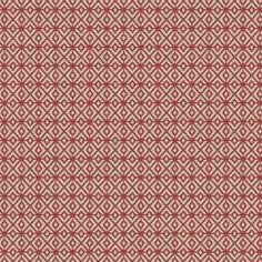 Warwick Fabrics : BOLTON, Colour CHILI