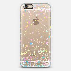 Pastel Confetti Explosion Transparent - Classic Snap Case