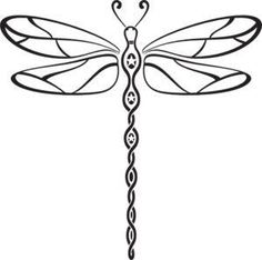 Dragonfly Symbol *** signifies happiness, speed, purity and life's constant process of change.