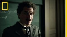 Genius tv series,teaser trailer which airs Thursdays on National Geographic, is a tv series about the life of Albert Einstein~this scene stars Johnny Flynn as the young Einstein.
