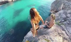 This Guy's Reaction To Girlfriend Falling From Cliff Has Caused Outrage Online. see it here: http://www.chaostrophic.com/guys-reaction-girlfriend-falling-cliff-caused-outrage-online/
