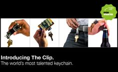 """The Clip"" is nice keychain."
