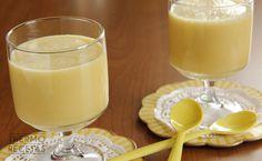 Delicioso batido de naranja y plátano que podemos utilizar para desayunar o para preparar una merienda refrescante.